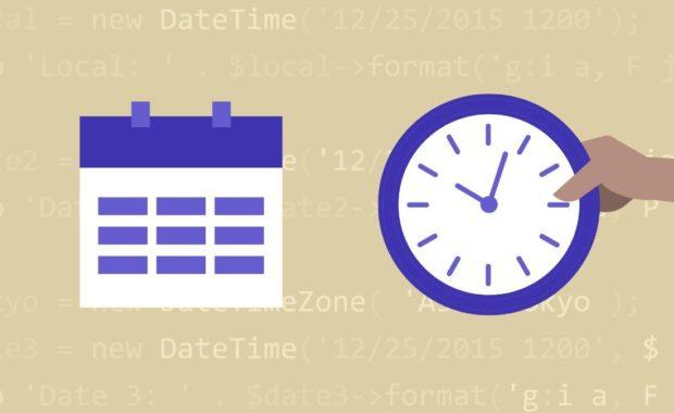 Formatear fecha con PHP